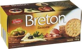 Bild på Dare Breton Kex Sesam 112 g