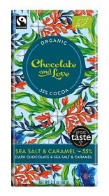 Bild på Dark Chocolate Sea Salt & Caramel 80 g