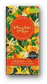 Bild på Dark Chocolate with Orange 100 g