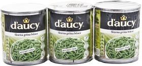 Bild på d'aucy Haricots Verts 3x200 g