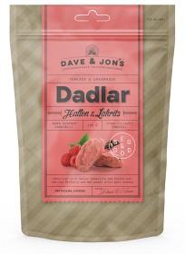 Bild på Dave & Jon's Dadlar Hallon & Lakrits 125 g