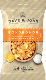 Bild på Dave & Jon's Rostade Bondbönor Havssalt 100 g