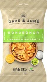 Bild på Dave & Jon's Rostade Bondbönor Wasabi 100 g