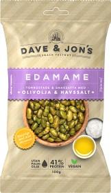 Bild på Dave & Jon's Rostade Edamame Olivolja & Havsalt 100 g