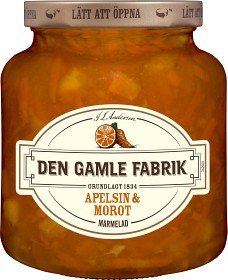 Bild på Den Gamle Fabrik Apelsin- & Morotmarmelad 380 g