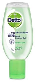Bild på Dettol Handdesinfektion Gel Aloe Vera 50 ml