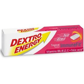 Bild på Dextro Energy Tropical 14 tabletter