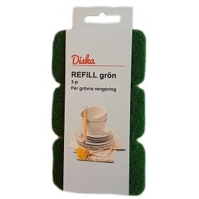 Bild på Diska Refill Grön 3 p
