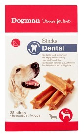Bild på Dogman Sticks Dental Box M/L 28 P