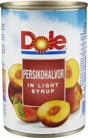 Bild på Dole Persikohalvor i sirapslag 410 g