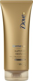 Bild på Dove DermaSpa Summer Revived Lotion Dark 200 ml