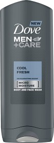 Bild på Dove Men Cool Fresh Body & Face Wash 250 ml