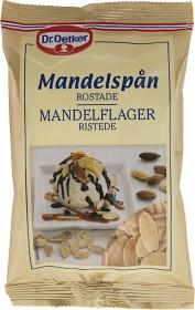Bild på Dr. Oetker Rostade Mandelspån 50 g