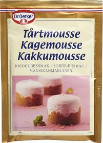 Bild på Dr. Oetker Tårtmousse Jordgubbssmak 96 g