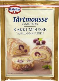 Bild på Dr. Oetker Tårtmousse Vaniljsmak 90 g