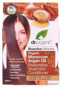 Bild på Dr Organic Moroccan Argan Oil Restorative Treatment Conditioner 200 ml