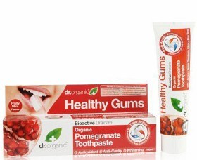 Bild på Dr Organic Pomegranate Toothpaste 100 ml