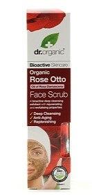 Bild på Dr Organic Rose Otto Face Scrub 125 ml