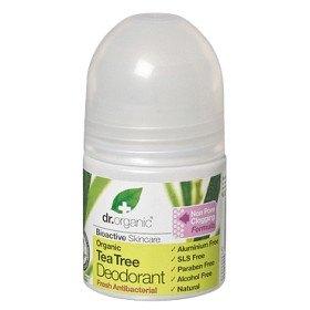 Bild på Dr Organic Tea Tree Deodorant 50 ml