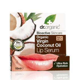 Bild på Dr Organic Virgin Coconut Oil Lip Serum 10 ml