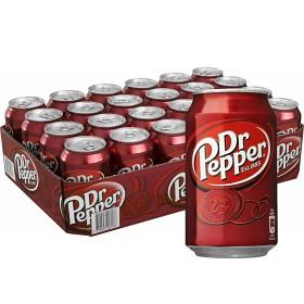 Bild på Dr Pepper Burk 24x33 cl inkl. pant