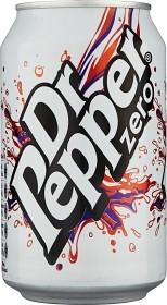Bild på Dr Pepper Zero Burk 33 cl inkl. pant