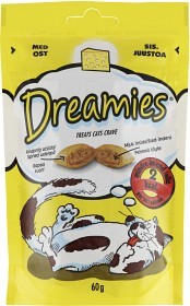 Bild på Dreamies Kattsnacks Ost 60 g