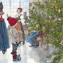 Bild på Duni Servett 3-lagers Nu är det jul igen 20 p