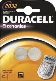 Bild på Duracell Litiumbatteri DL2032 (CR2032), 2 st