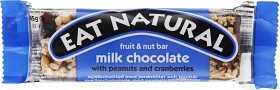 Bild på Eat Natural Milk Chocolate Peanuts & Cranberries 45 g
