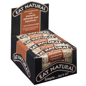 Bild på Eat Natural Peanut & Almond 12 st