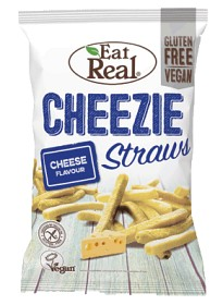 Bild på Eat Real Cheeze Straws 113 g