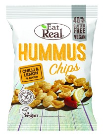 Bild på Eat Real Hummus Chips Chili Lemon 135 g