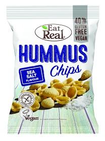 Bild på Eat Real Hummus Chips Sea Salt 135 g