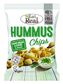 Bild på Eat Real Hummus Chips Sour Cream & Chive 135 g
