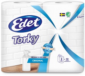 Bild på Edet Hushållspapper Torky Original 2 p