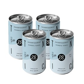 Bild på Ekobryggeriet Nordic Tonic Bitter Small Slim Can 4x150 ml