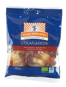 Bild på Kung Markatta Colaflaskor 100 g