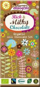 Bild på Ekorrens Ekologiska Mjölkchoklad 85 g