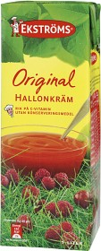 Bild på Ekströms Hallonkräm Original 1 L