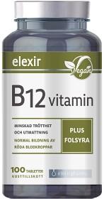 Bild på Elexir Vitamin B-12 Vegan 100 tabletter