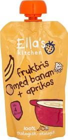 Bild på Ella's Fruktris Banan & Aprikos 120 g