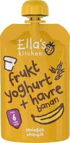 Bild på Ella's Fruktyoghurt Havre Banan 100 g