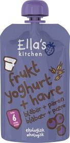 Bild på Ella's Fruktyoghurt Havre Blåbär & Päron 100 g