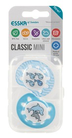 Bild på Esska Classic Mini silikon Fiskar/Delfiner