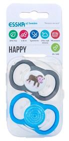 Bild på Esska Happy silikon Svart/Blå