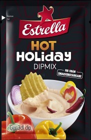Bild på Estrella Dipmix Hot Holiday 24 g