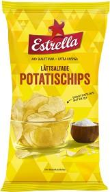Bild på Estrella Lättsaltade Potatischips 175 g