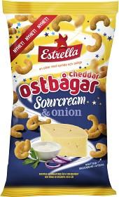 Bild på Estrella Ostbågar Cheddar med Sourcream & Onion 225 g