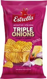 Bild på Estrella Triple Onions 275 g